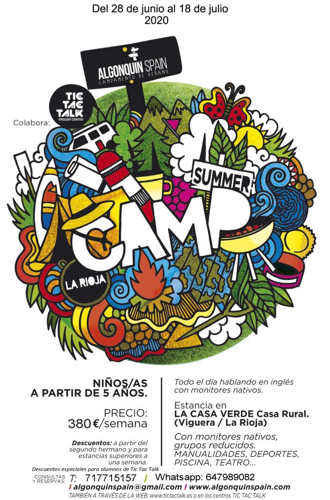 Campamento de verano 2020
